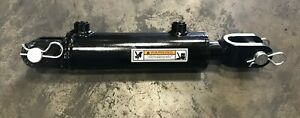 Dalton Hydraulic Welded Clevis Cylinder 2 5 Bore 6 Stroke 3000 Psi 8 Sae
