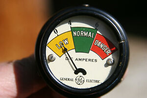 Ge G e Vintage Colorful Amp Gauge