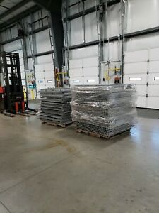 Pallet Rack Heavy Duty Mesh Decking Selling All 50 At 1 Price