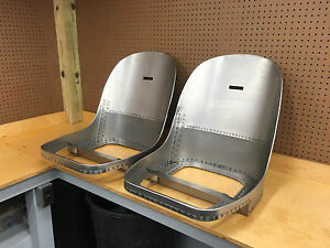 Jaguar E type Xke 3 8 Fhc Coupe Seat Frames New Absolutely Perfect
