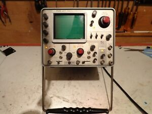Vintage Tektronix 422 Portable Analog Dual Channel Oscilloscope