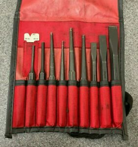 Snap On 10 Pc Punch And Chisel Set Ppc710bk