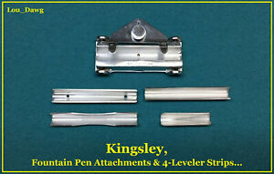 Kingsley Machine Fountain Pen Attachments Hot Foil Stamping Machine