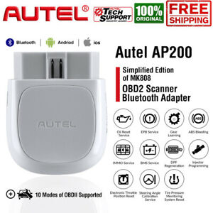 2020new Autel Ap200 Bluetooth Adapter Obdii Scanner Code Reader Diagnostic Tool