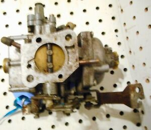 Used Zenith Stromberg british Single Barrel Jt963 Carburetor for Parts rebuild