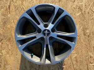 2013 2014 Ford Mustang Oem Wheel Rim 3906 Dr331007bb 17in 17x7 Machined Charcoal