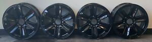 2015 2019 Ford F150 Expedition 17 Factory Oem Wheel 3995 Gloss Black Set