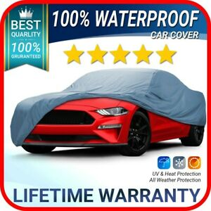 Ford Mustang 2015 2016 2017 2018 2019 2020 Car Cover Warranty Customfit