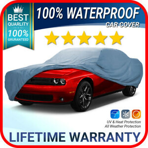 dodge Challenger Car Cover Best Waterproof 100 Warranty custom fit
