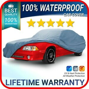 Ford Mustang Convertible 1987 1988 1989 1990 1991 1992 1993 Car Cover Custom