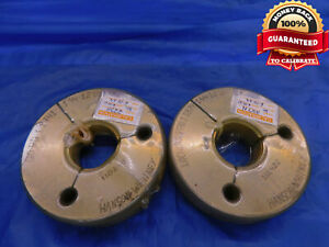 1 1 4 12 Unf 2a Thread Ring Gages 1 25 Go No Go P d s 1 1941 1 1879 Nf 2a