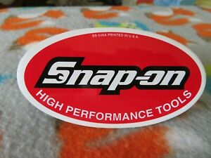 New Vintage Snap On Ss548a Snap On Tool Box Sticker Decal