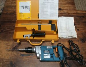 Aeg Pneumatic Hammer Drill Combo Ph 200 Heavy Duty German Metal Case Papers