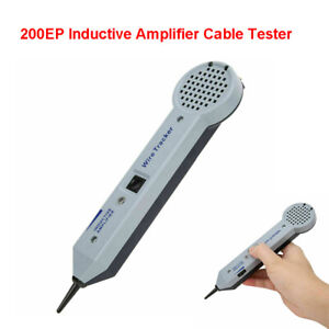 200ep Wire Inductive Amplifier Cable Finder Tester Detector Toner Tone Generator