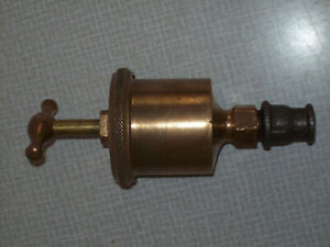 Lunkenheimer Marine No 2 Grease Cup Oiler Brass Hit And Miss Stationary