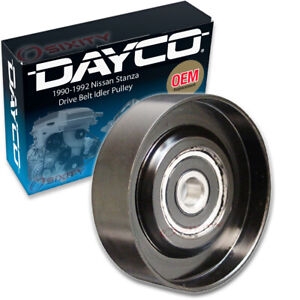 Dayco Drive Belt Idler Pulley For 1990 1992 Nissan Stanza Tensioner Pully Bo