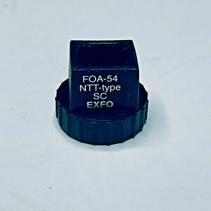 Exfo Foa 54 Sc Adapter Fiber Optic Connector