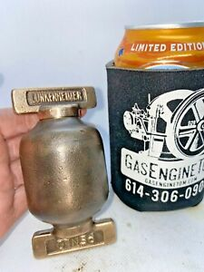 Lunkenheimer Penlo Brass Grease Cup Oiler Hit Miss Gas Engine Vintage Steampunk