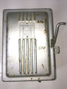 Vintage Westinghouse 28185 Circuit Breaker Box Enclosed Safety Switch