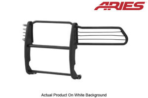 Aries Blk Semi Gloss Grille Brush Guard Front 1 Piece For 09 18 Dodge Ram 1500