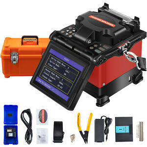 Vevor Jw4108s Fusion Splicer Kits Auto Fiber Optic Splicing Machine 5 Display