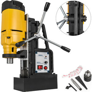 1200w J1z 23 Magnetic Base Drill Press 23mm Boring 13500n Magnet Force Tapping