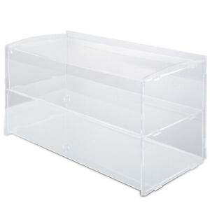 Acrylic Display Cabinet 2 Shelves L18 9 X W9 X H10 6 Bakery Collectibles