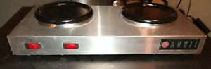Anvil Vollrath Coffee Warmer 2 Plate 120 Volt Commercial Restaurant