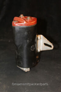 Vintage Mallory Ignition Coil 6v Nice