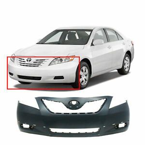 Primed Front Bumper Cover For 2007 2009 Toyota Camry Se 5211906921 To1000318