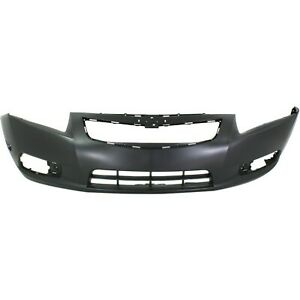 Primed Front Bumper Cover For 2011 2014 Chevy Chevrolet Cruze Base Ls Lt Ltz