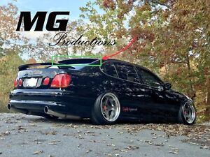 Mg Production Roof Wing Spoiler For 98 05 Lexus Gs300 Gs400 Gs430 Aristo Jzs