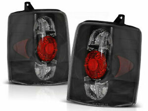 Tail Rear Lights For Chrysler Jeep Grand Cherokee Zj 93 99 Clear Black