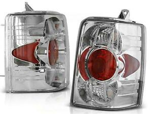 Tail Rear Lights For Chrysler Jeep Grand Cherokee Zj 93 99 Clear Chrome