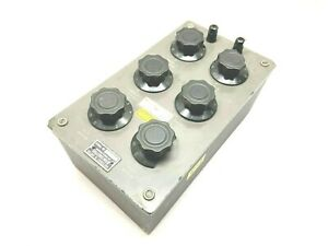 Shallcross 832 Electrical Resistance Box 2 5 8 25 80 250 800 Ma Max Knobs