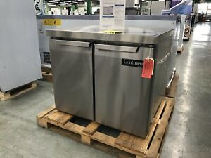 Continental Refrigerator Sw36 36 Undercounter Refrigerator Two Doors 115 Volts