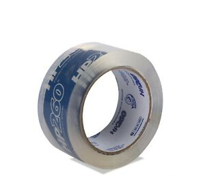 Duck Brand Hp260 High Performance 3 1 Mil Packaging Tape 1 88 inch X 60 yd Roll