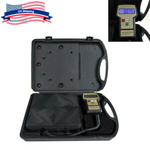 Professional Hvac Weight Refrigerant Charging Digital Weighing Scale case 220lb