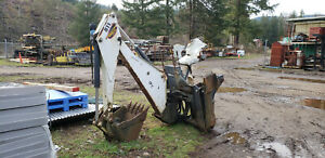 Bobcat 811 Backhoe Attachment For Skid Steer Loader With 2 Buckets
