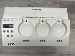 Philips M2720a Avalon Cts Cordless Fetal Monitoring Docking Station Parts 7533