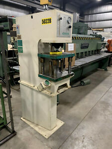 7 Ton Greenerd Press Model Hpb 7 6 Stroke C Frame With Stand 1998 Video