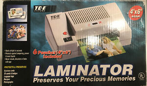 Tde Systems 4 x6 Laminator For Id s Pictures Crafts Business Cards