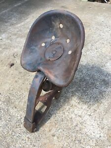 Farmall Ih H Sh M Sm Jd A B Tractor Easy Rider Seat Assembly Spring Shock