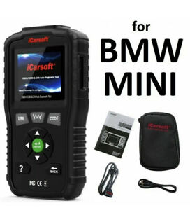 Bmw Mini Cooper Pro Diagnostic Scanner Tool Code Reader Abs Srs Airbag Obd2
