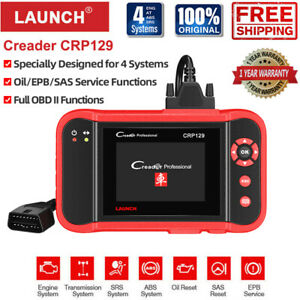 Launch Cr529 Crp129 Obd2 Engine Car Code Reader Scanner Diagnostic Scan Tool