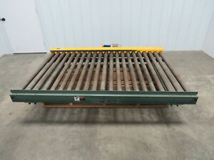 Hytrol 52 w X 84 l 7 Live Powered Pallet Case Roller Conveyor Qty Available