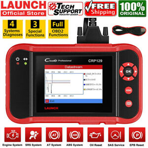 Launch Crp129 Pro Car Obd2 Diagnostic Scan Tool Auto Scanner Code Reader Abs Srs