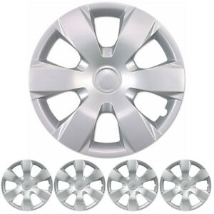 Carxs Hubcaps Kt 1000 16 Toyota Camry 16 Silver Replica Wheel Covers Set Of 4