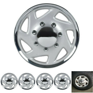 For Ford F250 F350 E250 E350 Econoline Van 16 Hubcaps Wheel Covers Set Of 4