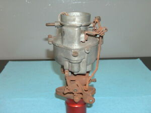 1938 Plymouth Standard Chandler Groves One 1 Barrel Carburetor A2 A2 3 Six Carb